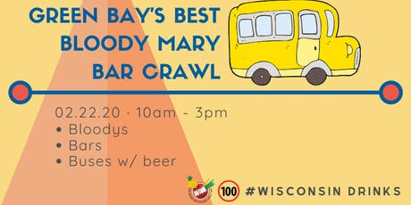 Green Bay's Best Bloody Mary Bar Crawl tickets