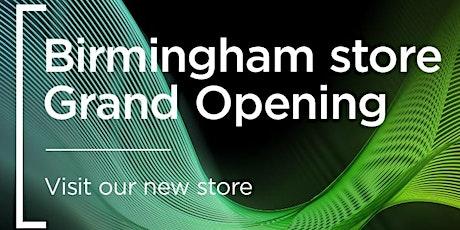 Grand opening - Birmingham tickets