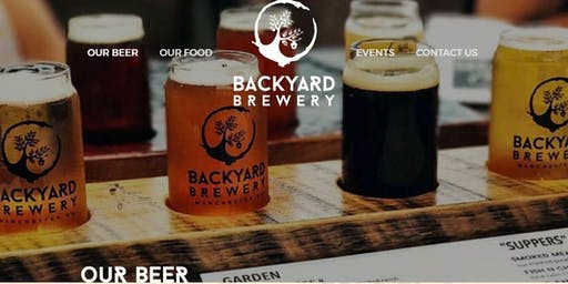 Commercial Resources Networking Event at Backyard Brewery