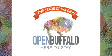 Here to Stay! A Five-Year Celebration & Fundraiser for Open Buffalo tickets