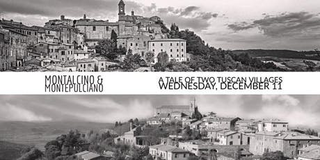 Wednesday Tasting - Montalcino VS Montepulciano, A Tale of Two Tuscan Villages tickets