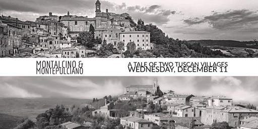 Wednesday Tasting - Montalcino VS Montepulciano, A Tale of Two Tuscan Villages