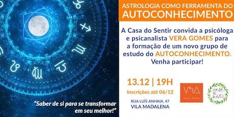 NOVA TURMA: Astrologia como Ferramenta do Autoconhecimento ingressos
