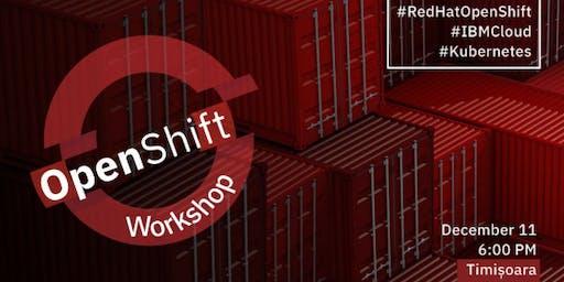 OpenShift on IBM Cloud workshop - Timisoara