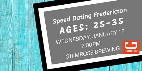 Speed Dating Fredericton - Ages: 25 - 35 tickets
