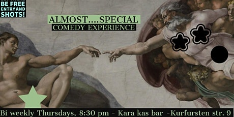 Almost special - Free stand up comedy (with) experience tickets