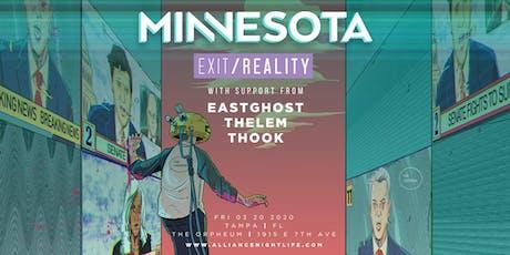 Minnesota @ The Orpheum tickets
