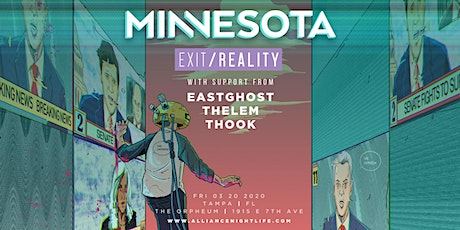 Minnesota @ The Orpheum tickets
