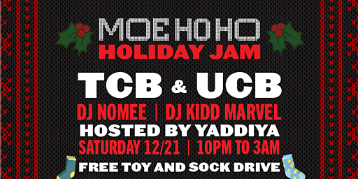 MoeHoHo Christmas Jam & Movie Screening