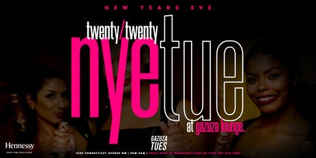 New Years Eve TWENTY/TWENTY at Gazuza Lounge: Presented by Hennessy VS tickets