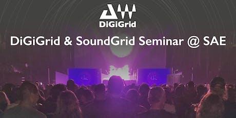 DiGiGrid & SoundGrid Seminar (WAVES Live Audio & Tonstudio)  Tickets