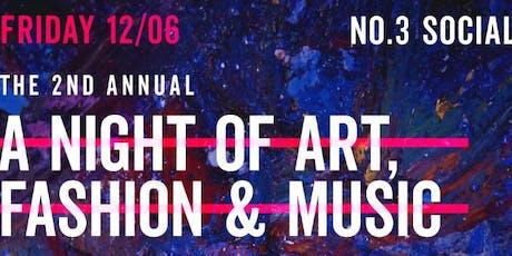 Ultra Nate', Deep Sugar  & No. 3 Social present a Night of MUSIC & ART tickets