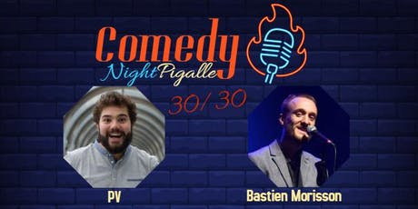 Comedy Night Pigalle #12 billets
