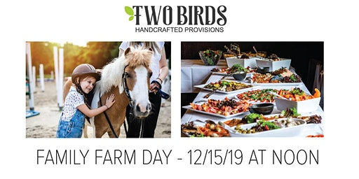 Holiday Party! Family Day at Sky Blue Stables with Two Birds Provisions