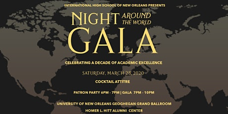 2020 Night Around the World Gala-Celebrating a Decade of Academic Excellence  tickets