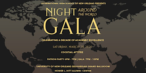 2020 Night Around the World Gala-Celebrating a Decade of Academic Excellence