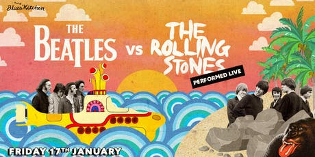 The Beatles vs The Rolling Stones tickets