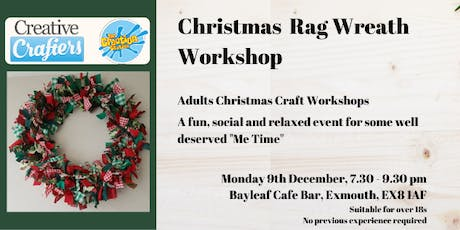 Christmas Rag Wreath Workshop tickets