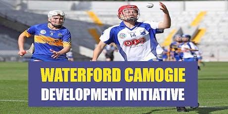 Waterford Camogie Development Initiative- January 2020 tickets