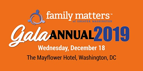Family Matters of Greater Washington Gala 2019 tickets
