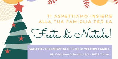 Festa di Natale in Yellow Family