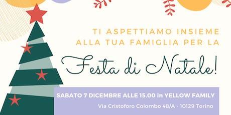 Festa di Natale in Yellow Family biglietti