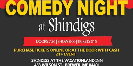 Comedy Night at Shindigs