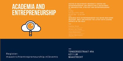Academia and Entrepreneurship