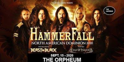 Hammerfall @ The Orpheum