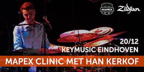 Mapex Clinic met Han Kerkhof tickets