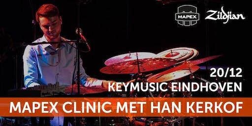 Mapex Clinic met Han Kerkhof