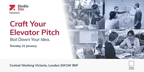 Side Hustles | Craft Your Elevator Pitch tickets
