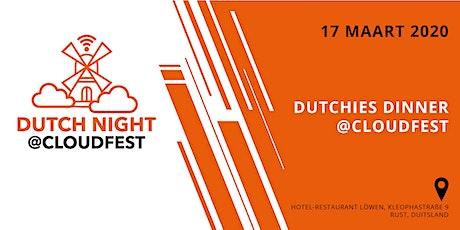Dutchies Dinner @CloudFest 2020 Tickets