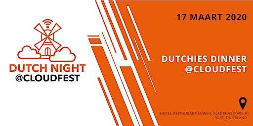 Dutchies Dinner @CloudFest 2020