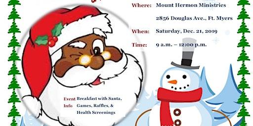 Free Breakfast with Santa & Health Screening