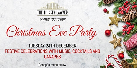 Christmas Eve Party @thethirstylawyer tickets