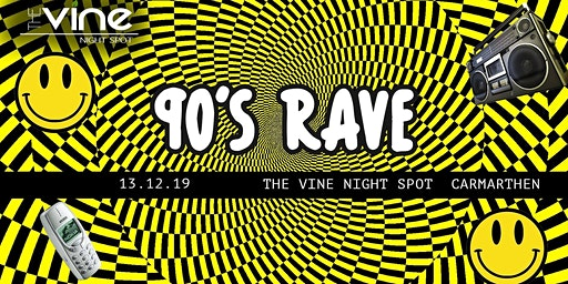 90s Rave | Carmarthen