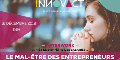 Afterwork - Le Mal-être des entrepreneurs