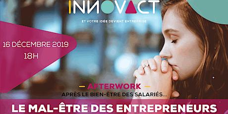 Afterwork - Le Mal-être des entrepreneurs billets