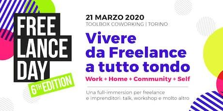 FREELANCE DAY 2020 biglietti