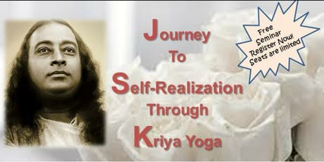 Journey to Self-Realization Through Kriya Yoga tickets