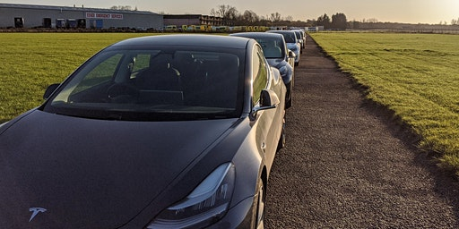 Tesla Drivers' airfield activity day Spring 2020