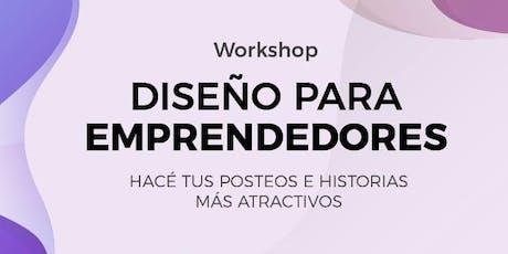 Workshop | Diseño para emprendedores entradas