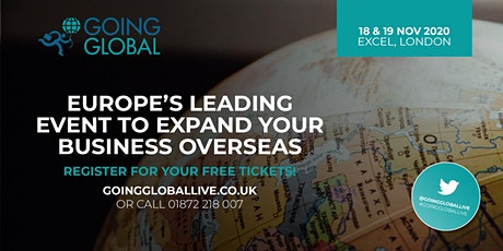 Going Global Live 2020 tickets