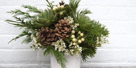 Deck the Halls! - Festive Floral Centerpieces  tickets