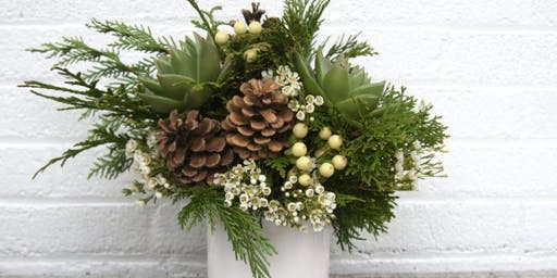 Deck the Halls! - Festive Floral Centerpieces