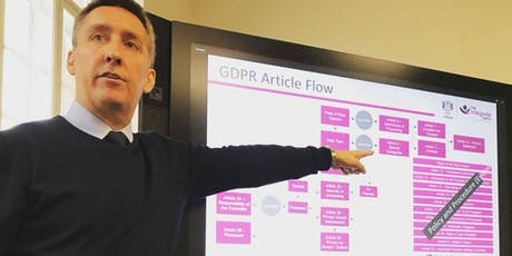 GDPR - A practical approach to Security by Design tickets