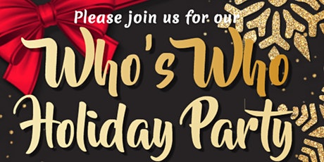 Who's Who Holiday Party tickets
