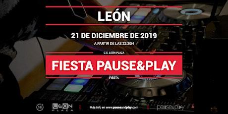 Fiesta Pause&Play con Djinven en Pause&Play León Plaza entradas