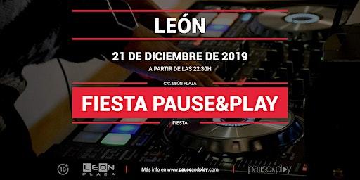 Fiesta Pause&Play con Djinven en Pause&Play León Plaza